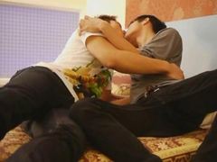Two Slender Thai Boys Are Cock Sucking Addicts