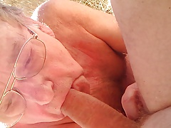 Old Man loves younger Cock