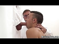 Virgin twink raw banged by elders during his initiation