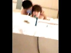 Korean &amp_ Chinese Gay Boyfriends in Hotel