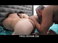Step Dad And Twink Step Son Threesome With Hot Neighbor Boy