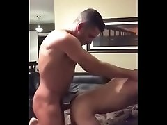 Daddy fucks raw his step-son for first time