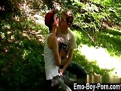 Twink movie Skylar West has been waiting in the woods for his