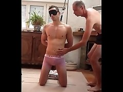 Straight Slave : Groped Sucked By Gay 1